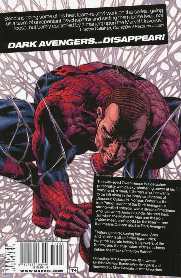 DARK AVENGERS VOL 02 MOLECULE MAN SC