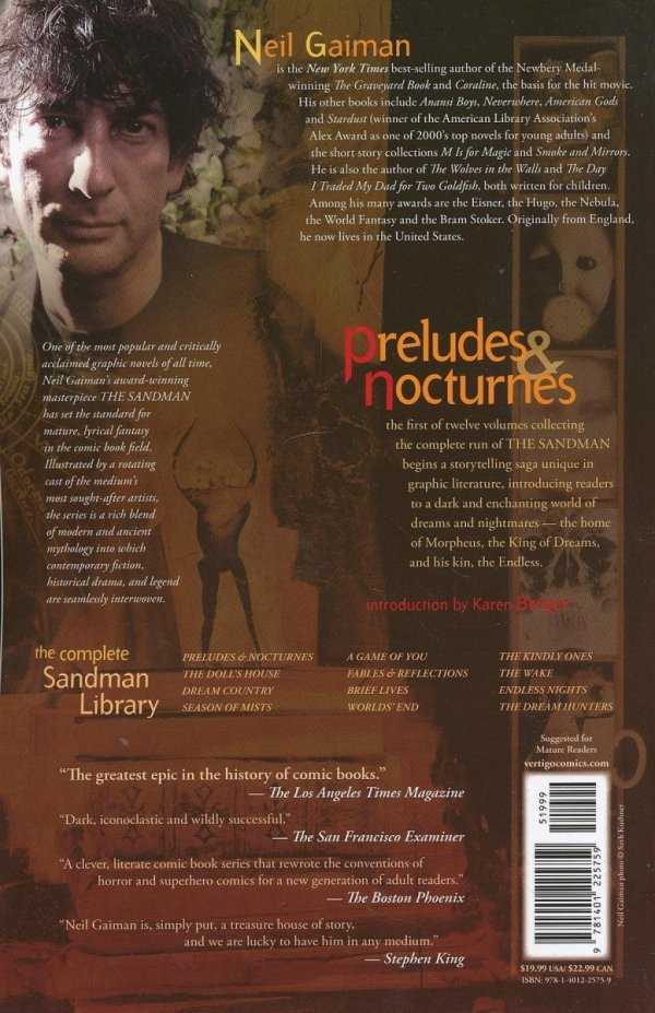 SANDMAN VOL 01 PRELUDES AND NOCTURNES SC (OLD EDITION)