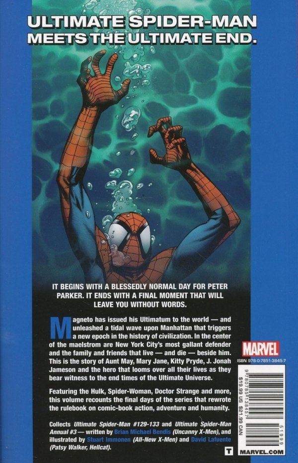 ULTIMATE SPIDER-MAN TP VOL 22 ULTIMATUM
