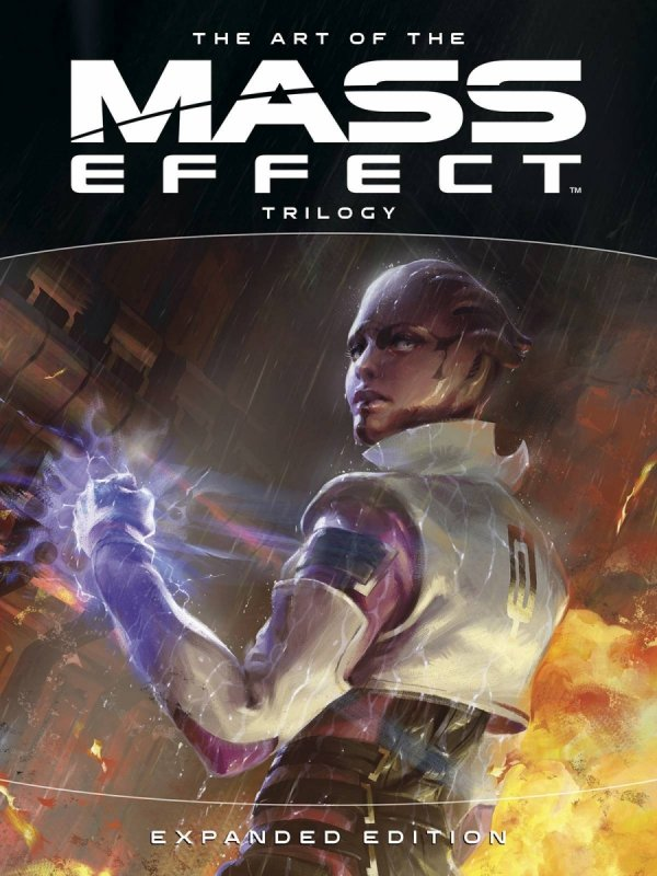 ART OF MASS EFFECT TRILOGY EXPANDED ED HC *