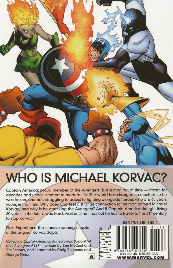 CAPTAIN AMERICA AND THE KORVAC SAGA SC