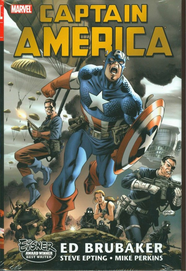 CAPTAIN AMERICA BY ED BRUBAKER OMNIBUS VOL 01 HC (OLD EDITION) (STANDARD COVER) *