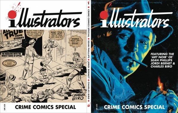 ILLUSTRATORS SPECIAL #9 9 CRIME COMICS *