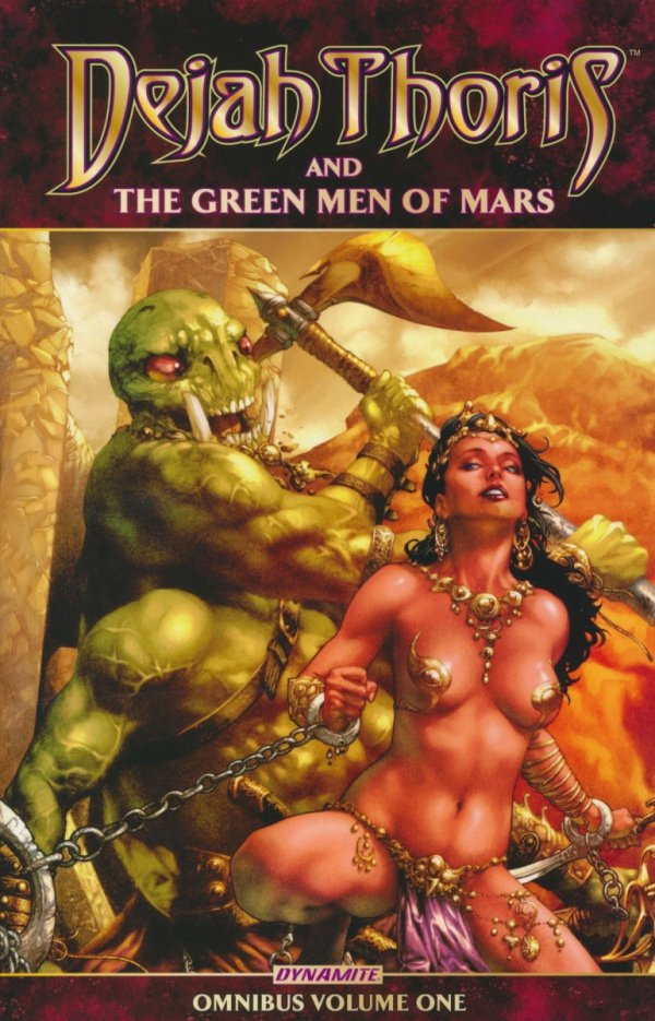 DEJAH THORIS AND THE GREEN MEN OF MARS OMNIBUS VOL 01 SC