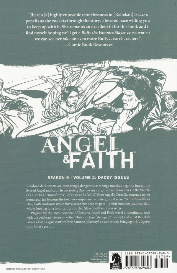 ANGEL AND FAITH VOL 02 DADDY ISSUES SC