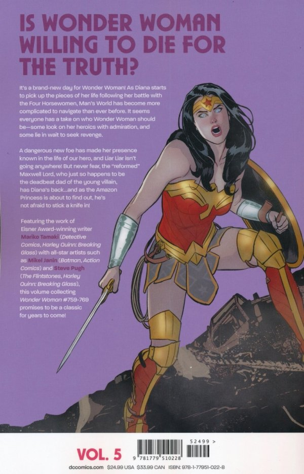 WONDER WOMAN LORDS AND LIARS TP