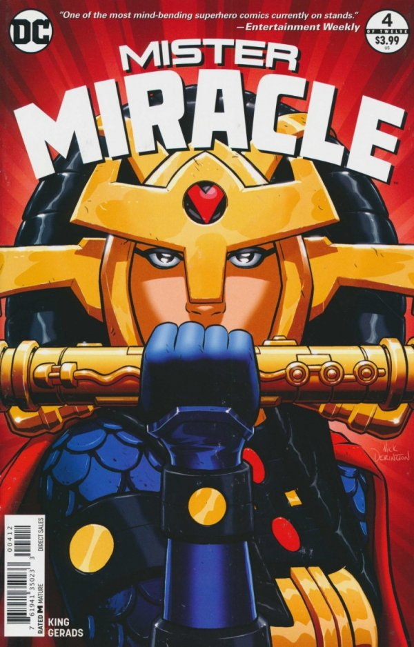 MISTER MIRACLE #4 2ND PTG