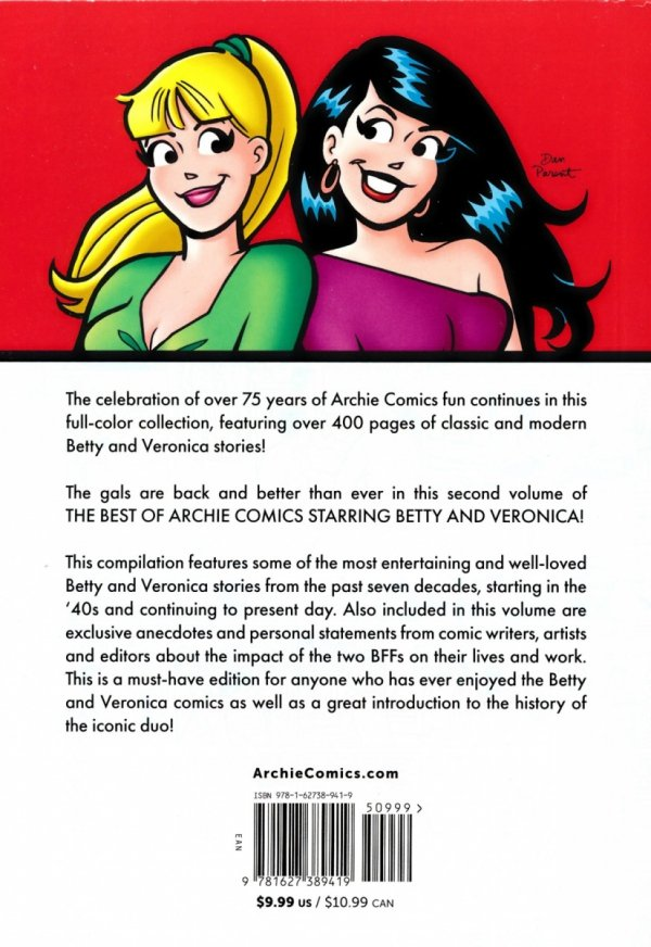 BEST OF ARCHIE COMICS STARRING BETTY AND VERONICA VOL 02 SC