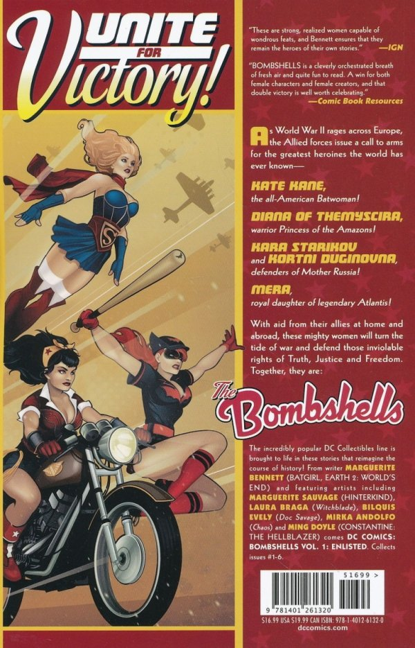 DC COMICS BOMBSHELLS TP VOL 01 ENLISTED