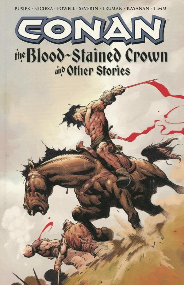 CONAN THE BLOOD-STAINED CROWN AND OTHER STORIES SC