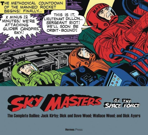 SKY MASTERS OF SPACE FORCE COMP DAILIES 1958-1961 SC *
