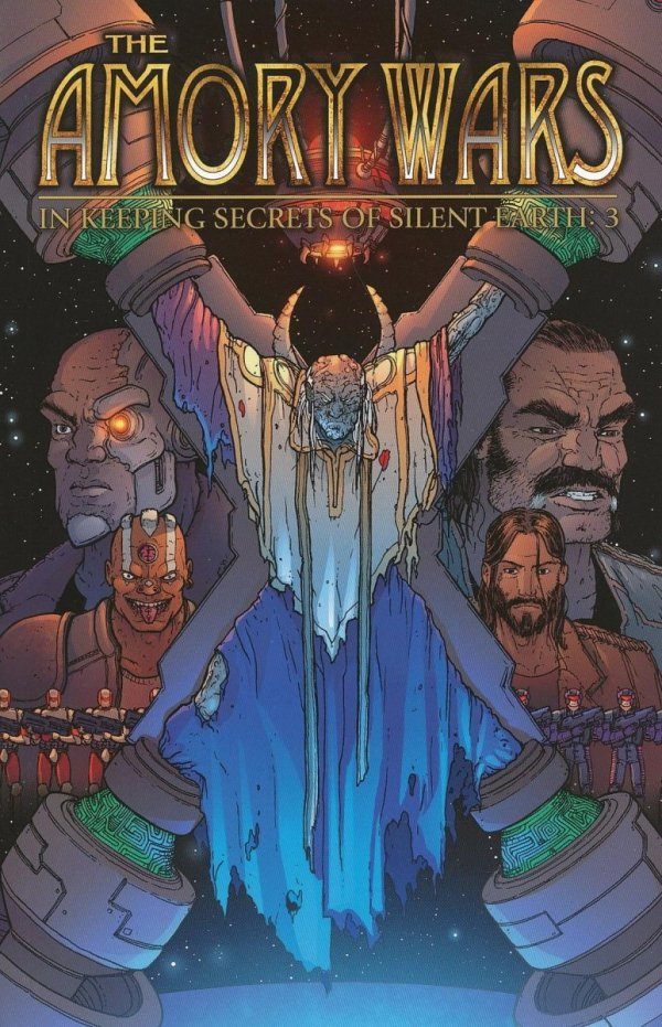AMORY WARS IN KEEPING SECRETS OF SILENT EARTH 3 VOL 02 SC