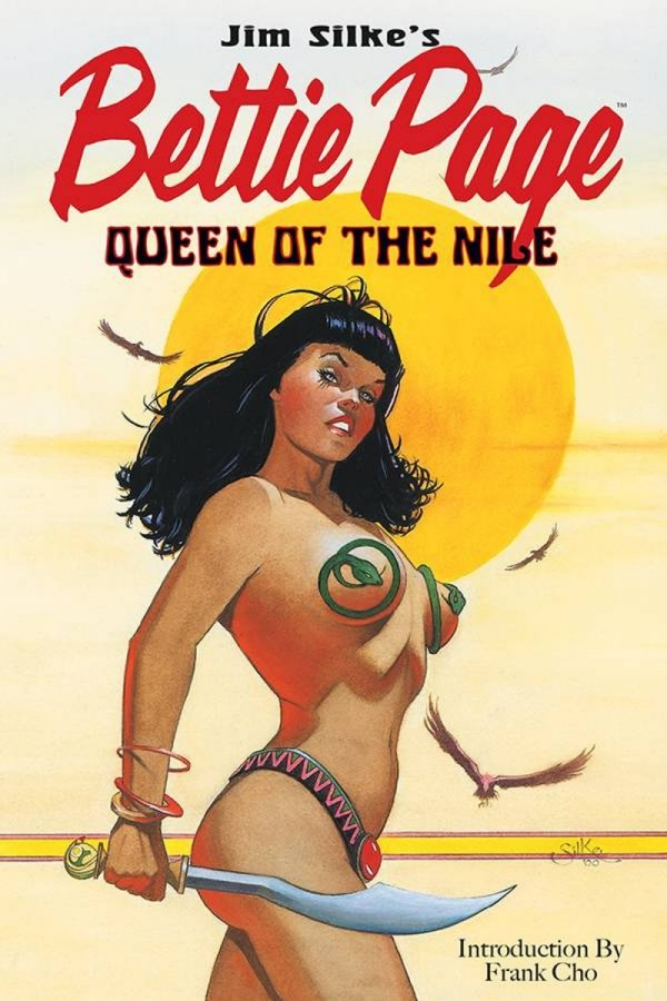 BETTIE PAGE QUEEN NILE TP *