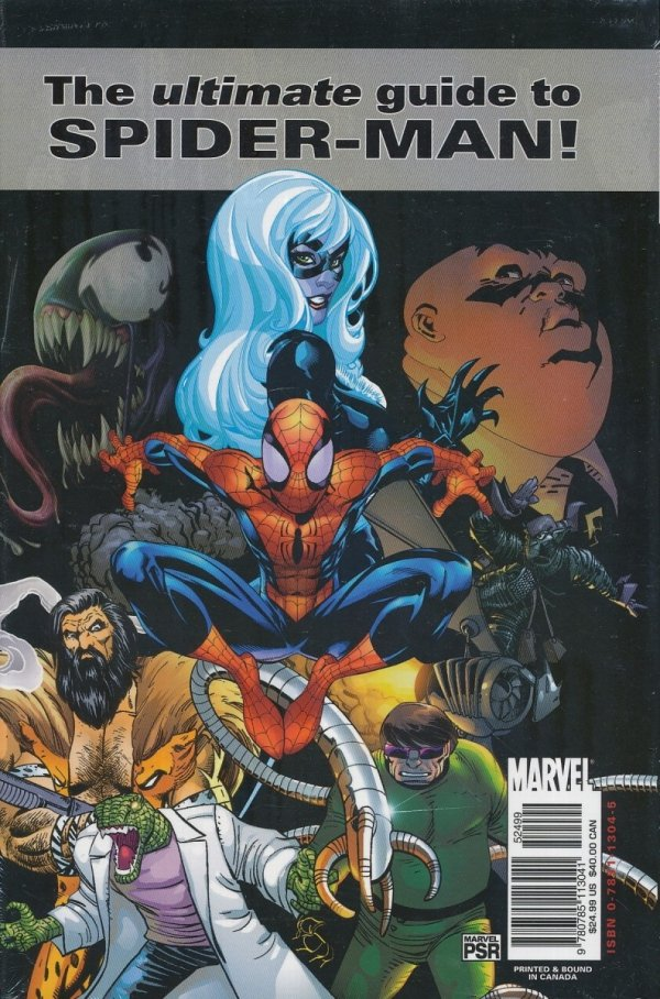 MARVEL ENCYCLOPEDIA HC VOL 04 SPIDER-MAN
