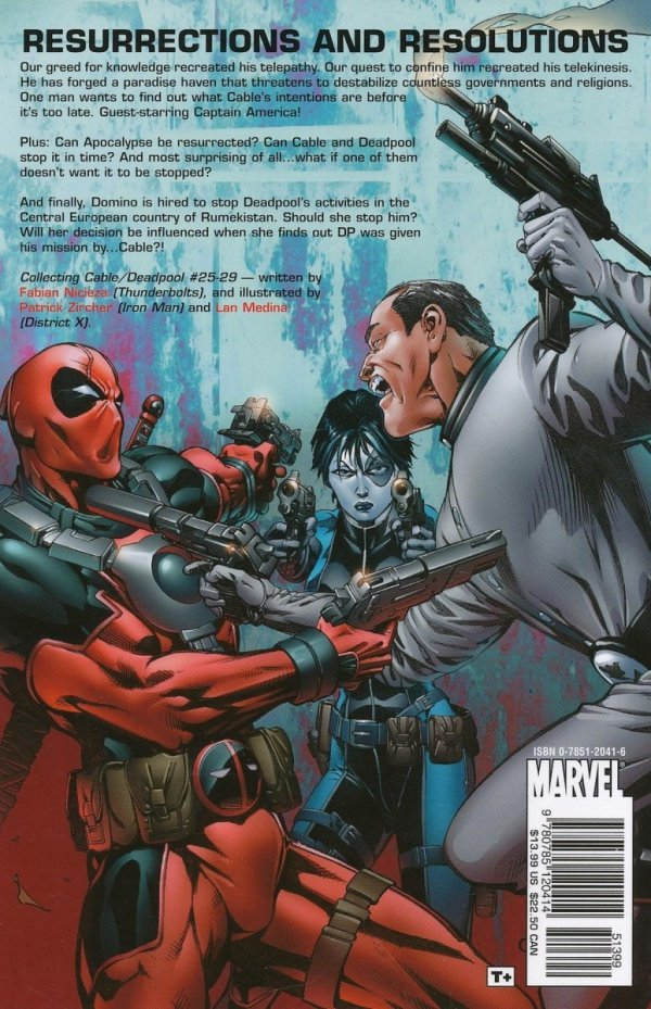 CABLE AND DEADPOOL VOL 05 LIVING LEGENDS SC **