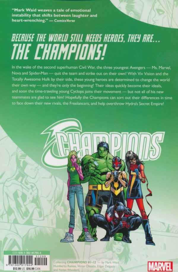 CHAMPIONS BECAUSE THE WORLD STILL NEED HEROES SC