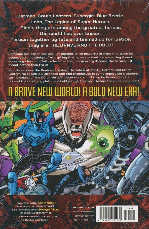 BRAVE AND THE BOLD VOL 01 THE LORDS OF LUCK HC