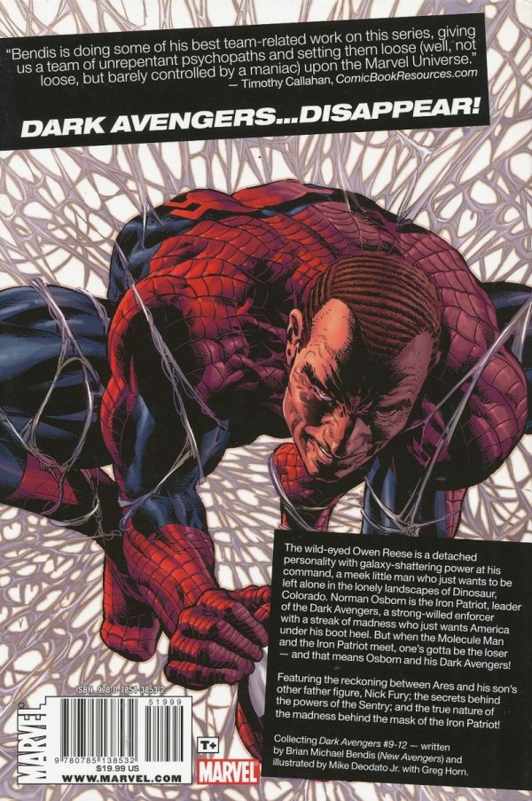 DARK AVENGERS VOL 02 MOLECULE MAN HC *