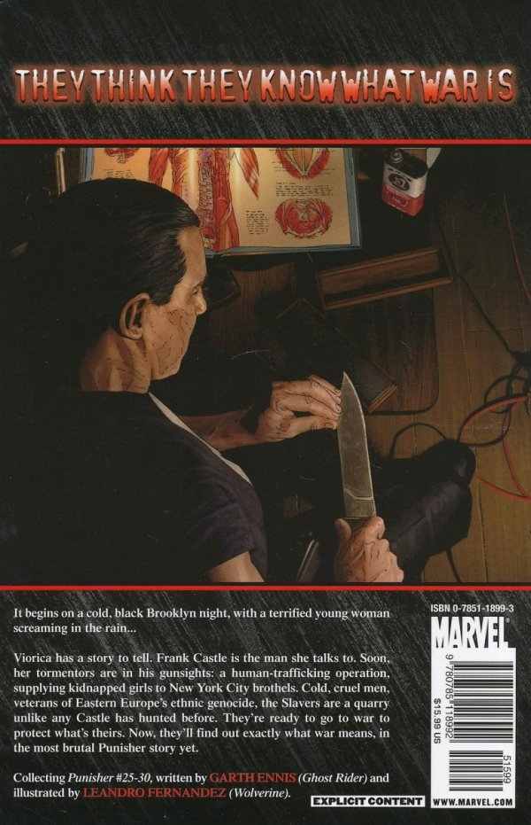 PUNISHER MAX TP VOL 05 THE SLAVERS