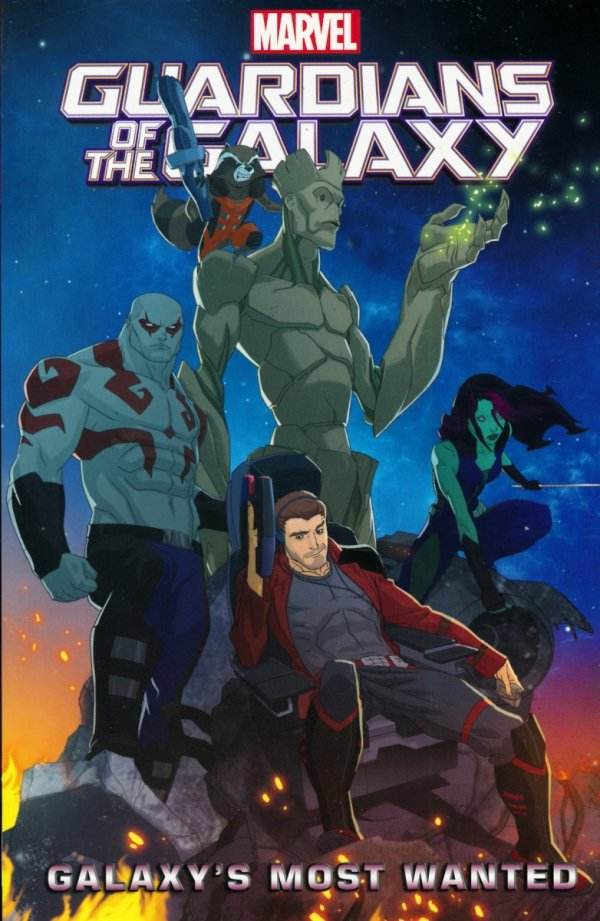 GUARDIANS OF THE GALAXY GALAXYS MOST WANTED SC