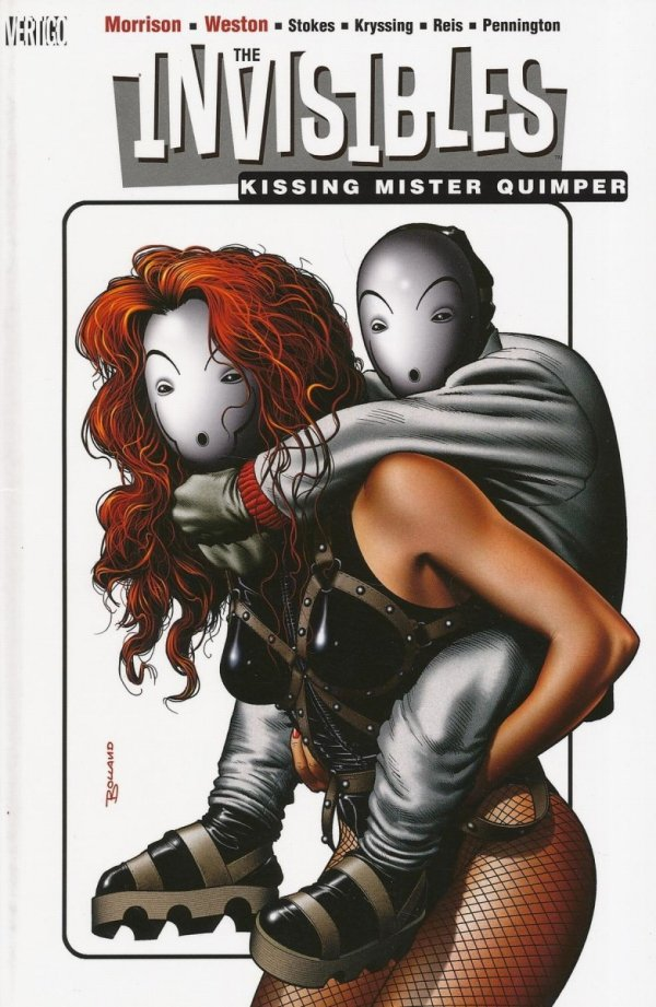 INVISIBLES VOL 06 KISSING MISTER QUIMPER SC