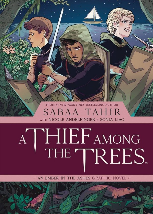 THIEF AMONG TREES EMBER ASHES ORIGINAL GN HC VOL 01 *