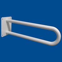 Uchwyt Umywalkowy / WC dla Niepełnosprawnych stały 80 cm biały fi25