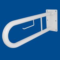 Uchwyt Uchylny dla Niepełnosprawnych z zawieszką na papier 60cm biały fi32