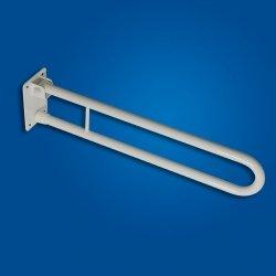 Uchwyt Uchylny WC 70cm biały fi25 dla niepełnosprawnych