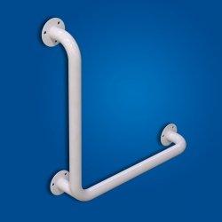 Uchwyt Kątowy 70/70cm biały fi32 dla niepełnosprawnych