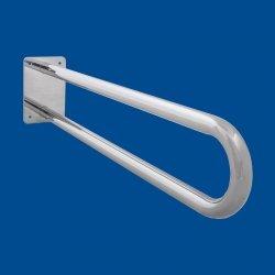 Uchwyt Umywalkowy/WC łukowy stały 60cm stal nierdzewna fi25 dla niepełnosprawnych