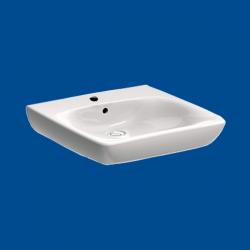 Umywalka dla osób niepełnosprawnych 55cmx55cm bez przelewu