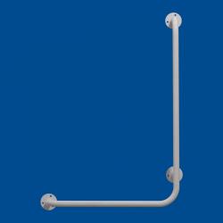 Uchwyt Kątowy dla Niepełnosprawnych prawy 100/40cm biały fi25