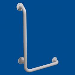 Uchwyt Kątowy dla Niepełnosprawnych lewy 100/40cm biały fi32