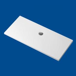 Brodzik posadzkowy najazdowy dla osób starszych i niepełnosprawnych biały akrylowy 180x80