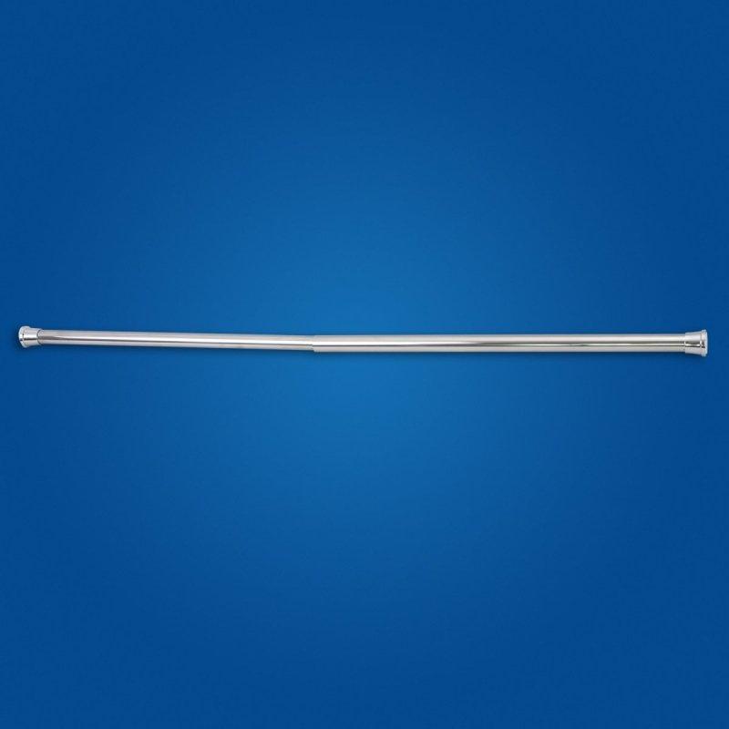Drążek zasłony prysznicowej rozprężny 70-110cm Chrom fi25