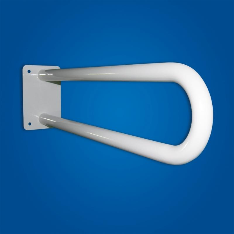 Uchwyt Umywalkowy / WC dla Niepełnosprawnych stały 50 cm biały fi25