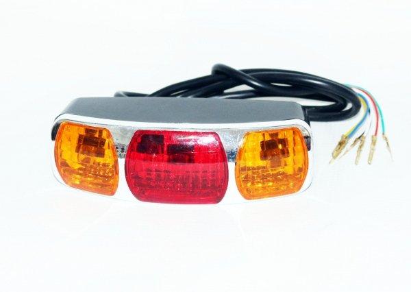 Lampa tylna do roweru elektrycznego 250W/36V