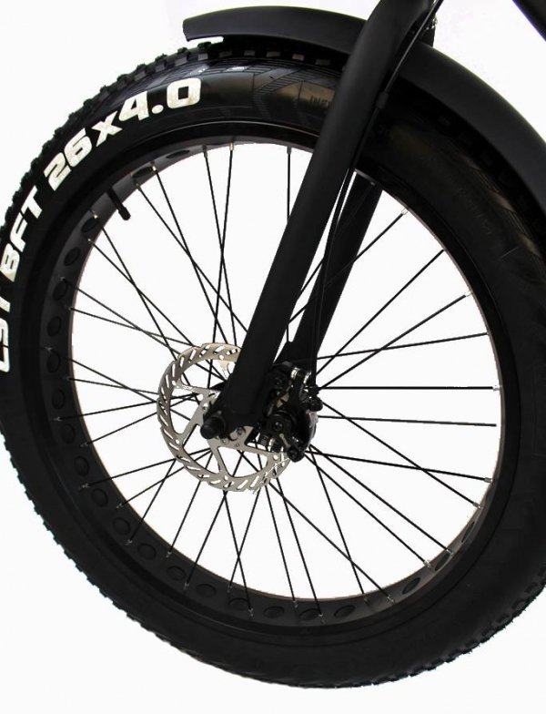 Rower elektryczny FatBike