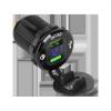 Ładowarka samochodowa 2xUSB z funkcją Quick Charge i miernikiem napięcia