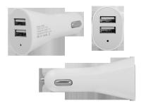 Ładowarka samochodowa dual  USB 3,1A LXG253