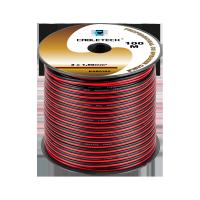 Kabel głośnikowy 1,5mm czarno-czerwony