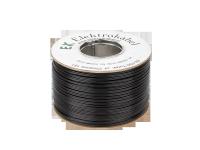 Kabel głośnikowy SMYp 2 x 1mm czarny 100m