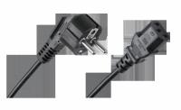 Kabel zasilający sieciowy do komputera 2m