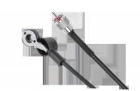 Kabel do anteny samochodowej CB do stopki DV i wtykiem UHF 3,6m