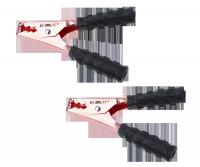 Złącze krokodyl 400A czarne