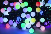 Lampki choinkowe LED RGB z kontrolerem kolorów- 10m