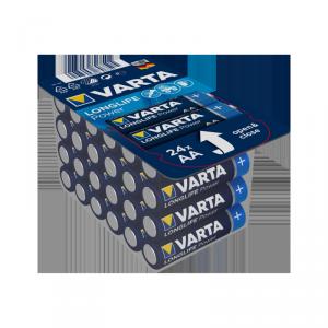 Bateria alkaliczna VARTA LR06 HIGH ENERGY Longlife Power 24szt./box