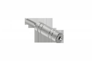 Gniazdo Jack 2.5mm ster.metal-kabel