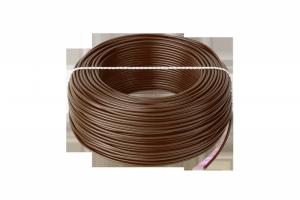 Przewód LgY 1x1,5 H07V-K brązowy